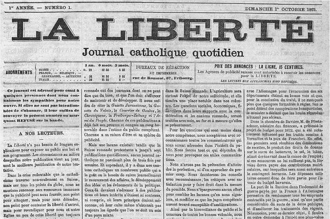 Les archives de La Liberté