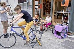 Des sonos à vélo à travers la Suisse