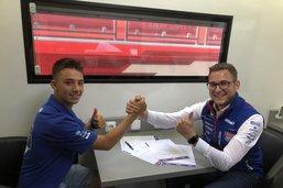 Jason Dupasquier va débuter en Moto3