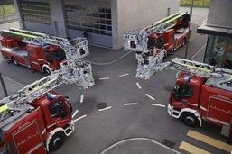 Quatre nouveaux camions pour les pompiers fribourgeois