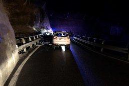 Collision frontale dans la nuit à Treyvaux