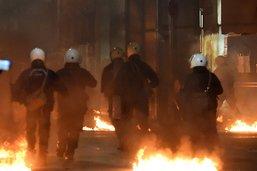 Heurts en Grèce lors d'une manifestation commémorative