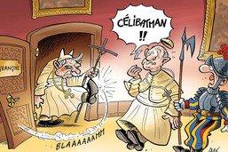 Benoît XVI, le défenseur du célibat des prêtres, revient!