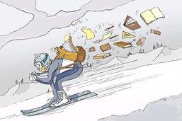 Slalom entre sport et études