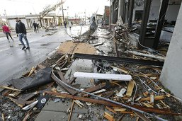 Au moins 25 morts dans de violentes tornades dans le Tennessee