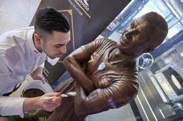 «Quand je sculpte le chocolat, j'essaie d'être un artiste»