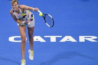 Kvitova de retour sur un court de tennis mais sans motivation