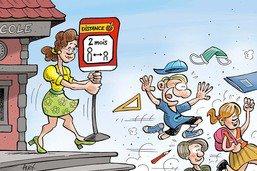 Fini l'école!