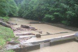 Fribourg: les pluies ont provoqué des inondations et un éboulement