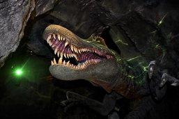 Dans le crâne d'un spinosaure