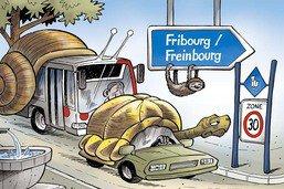 Fribourg: on roulera presque partout à 30 km/h
