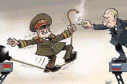 Biélorussie: la main tendue de Poutine à Loukachenko