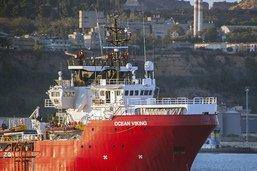 """L'Italie immobilise l'Ocean Viking pour raisons """"techniques"""""""