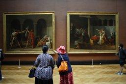 Au Louvre, 10'000 visiteurs par jour en juillet