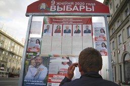 La police biélorusse disperse de nouvelles manifestations, un mort