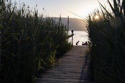 Eviter les eaux du lac de Neuchâtel