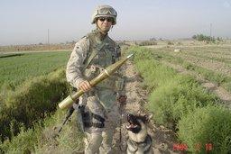 Sergent Rex, chien de guerre