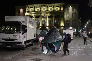 Les militants ont ignoré l'ultimatum de la Ville de Berne