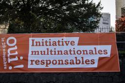 Fribourg a soutenu l'initiative sur les entreprises responsables
