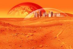 Mars: des plans sur la comète