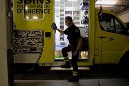 Ambulanciers en première ligne