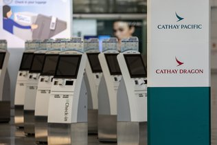 Cathay Pacific réduit ses effectifs d'un quart