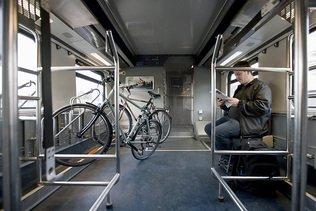 Vélos dans le train: l'ATE s'oppose à la réservation obligatoire