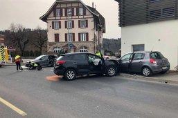 Un accident de la route fait trois blessés à Marly