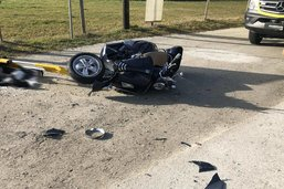 Scootériste grièvement blessé à Villarvolard