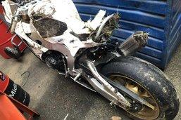 Un motard grièvement blessé à Chiètres