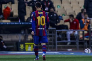 Premier carton rouge pour Lionel Messi avec le FC Barcelone