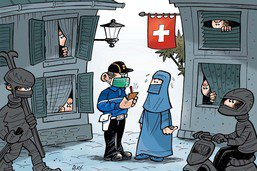 Se voiler le visage devient interdit en Suisse