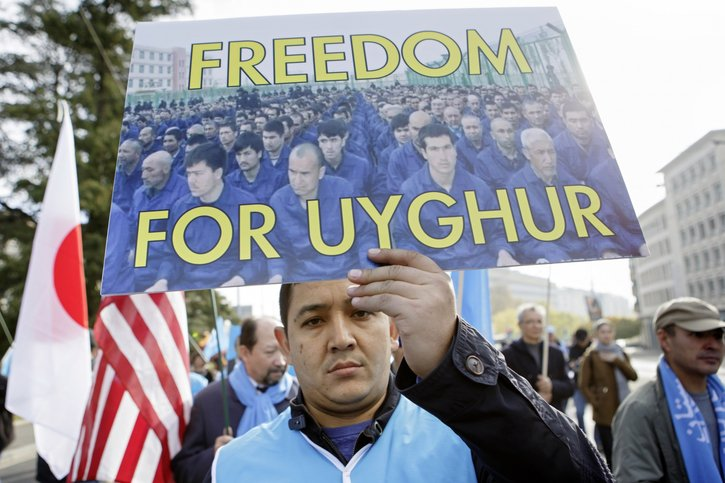 Dossier Ouïgours: L'enfer du décor © Keystone