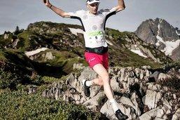 Au pied du Mont-Blanc et du podium