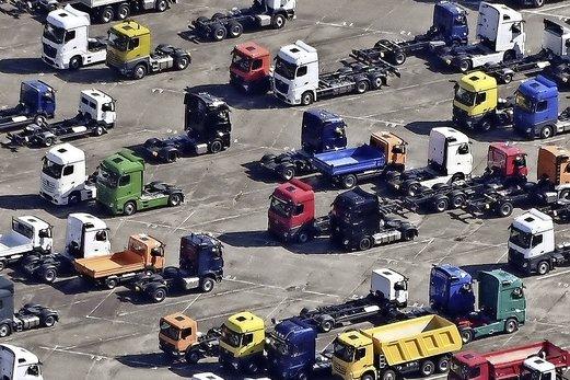 L'Europe manque de camionneurs