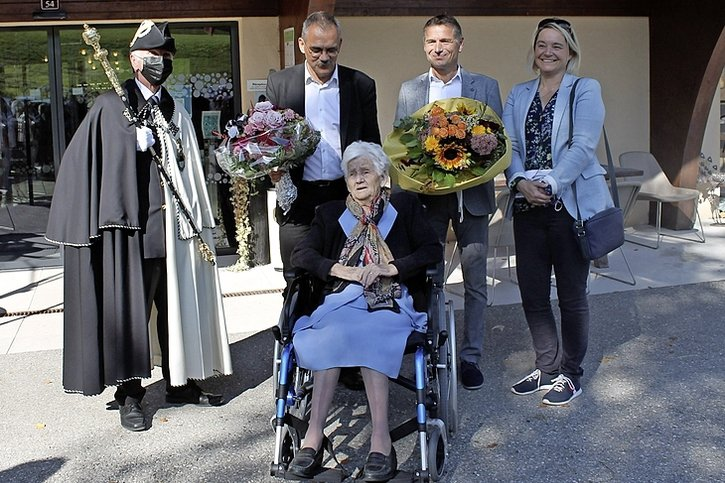 Julie Clément a 100 ans
