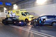 Une collision frontale fait un blessé à Granges-Paccot
