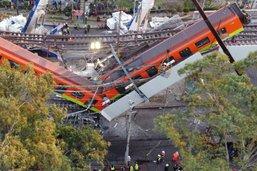 Accident du métro de Mexico: le parquet a clos son enquête
