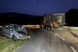 Un accident de la route à Autigny fait un blessé