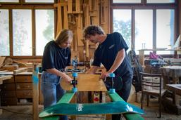 Skateboards made in Fribourg