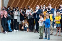 Inauguration de l'école des Pléiades