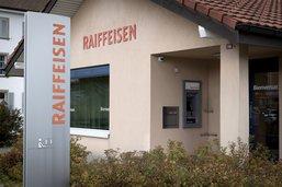 Raiffeisen ferme ses agences de Marsens et de Sorens